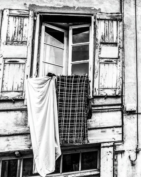 Franch Laundry Poster