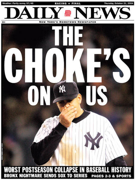 Front Page Of The New York Daily News Poster