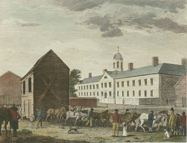 Gaol In Walnut Street Poster