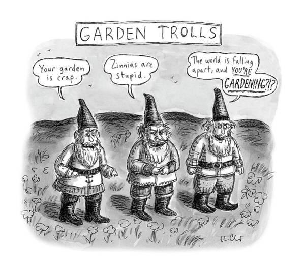 Garden Trolls Poster