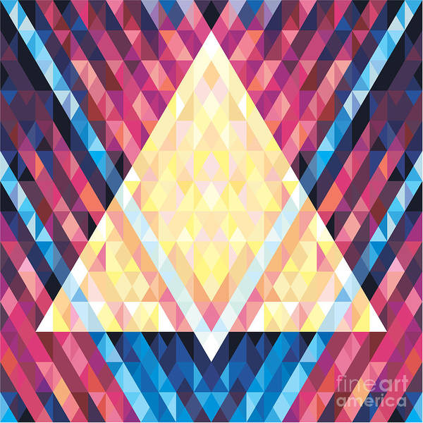 Geometric Background - Vector Seamless Poster