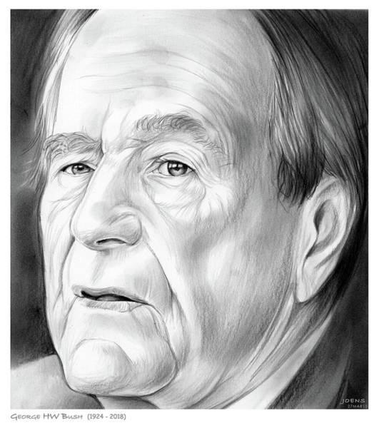 George Hw Bush 1924 - 2018 Poster