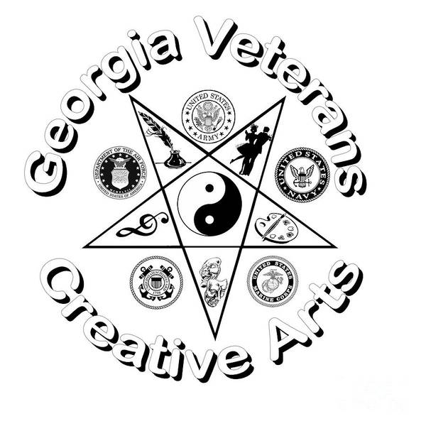 Georgia Veterans Creative Arts Poster