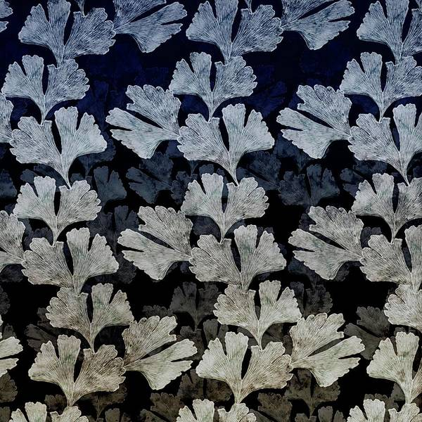 Ginko Leaf Pattern Poster