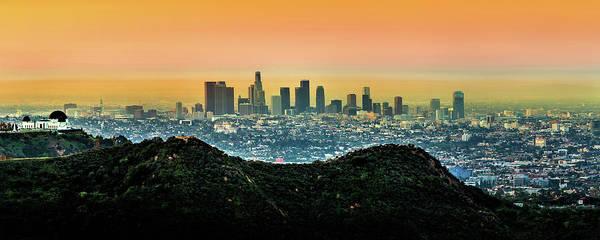 Golden California Sunrise Poster
