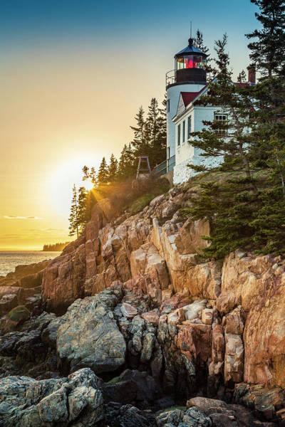 Golden Hour In Acadia Poster