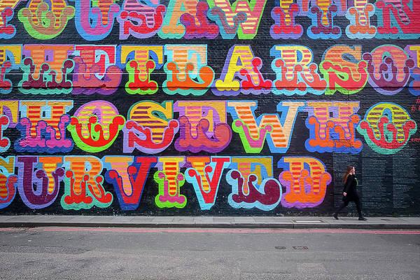 Graffiti Mural Poster