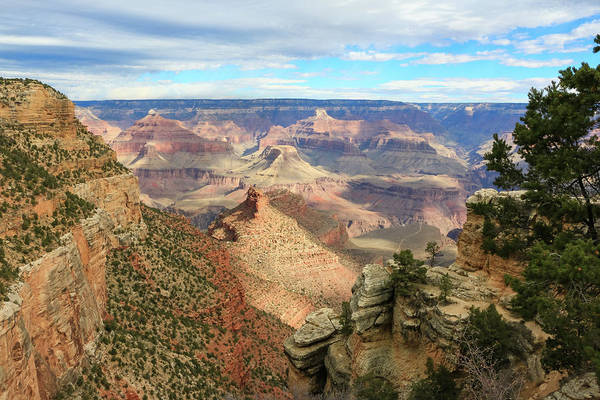 Poster featuring the photograph Grand Canyon View 3 by Dawn Richards