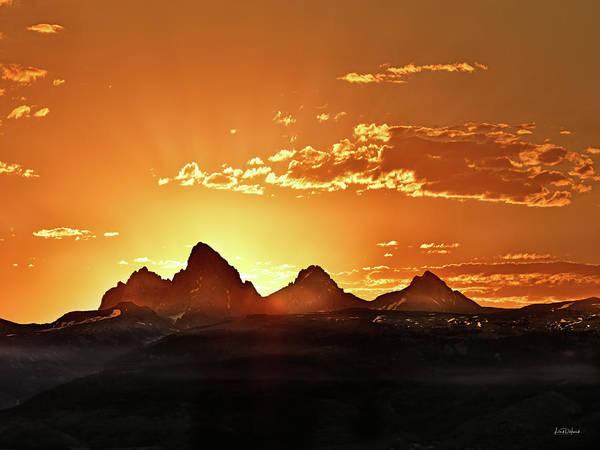 Grand Teton Sunrise Poster