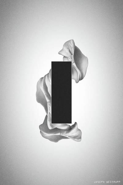 Gray Organon - Surreal Abstract Rectangle On Seashell Poster