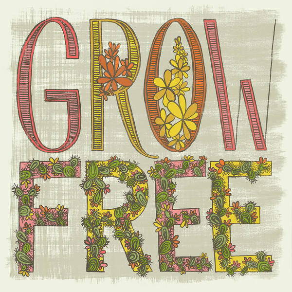 Grow Free Flowering Cacti Poster