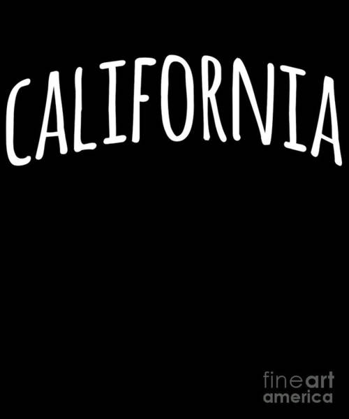 Poster featuring the digital art Hand California by Flippin Sweet Gear