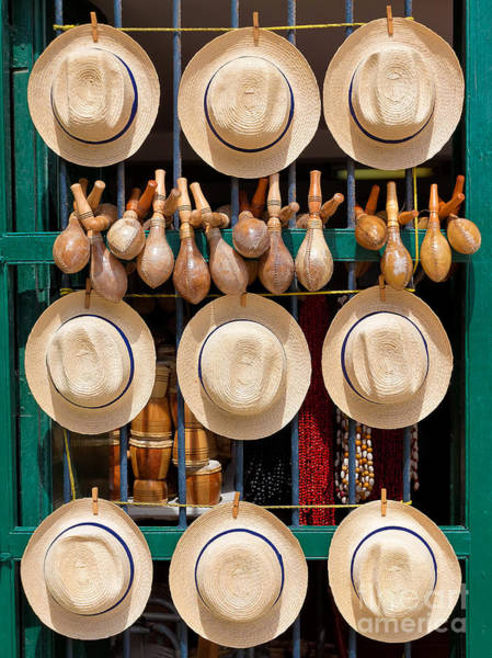 Hats, Musical Instruments,religious Poster