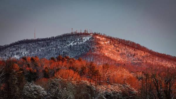 Hibriten Mountain - Lenoir, North Carolina Poster