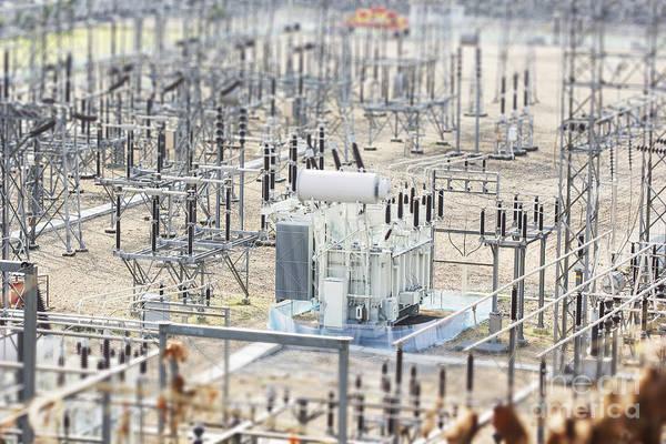 High Voltage Power Transformer Poster