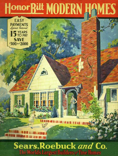 Honor Bilt Modern Homes Sears Roebuck And Co 1930 Poster
