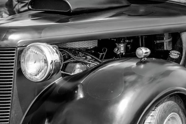 Hot Rod Engine Poster