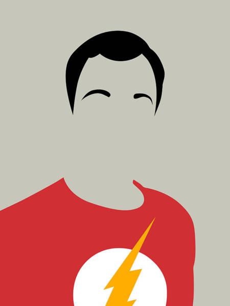 Sheldon Portrait Poster