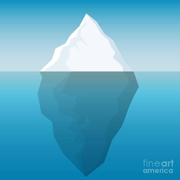 Iceberg Background Poster