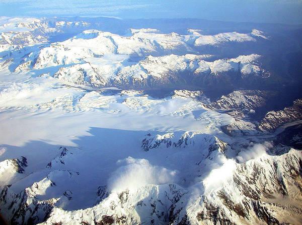 Icebound Mountains Poster