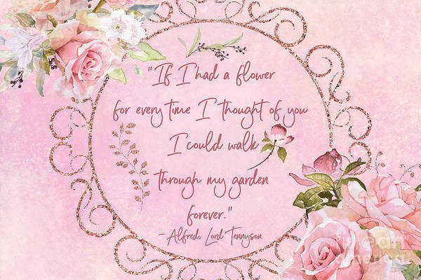 If I Had A Flower Love Artwork Poster