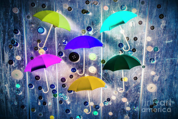 Imagination Raining Wild Poster