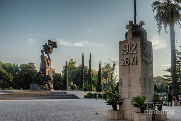 Independence Monument Of Albania In Vlore Poster