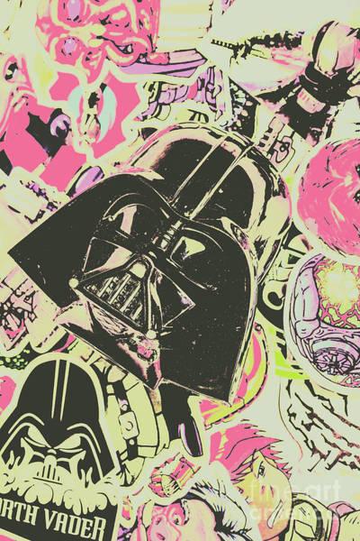 Intergalactic Planetary Pop Art Poster