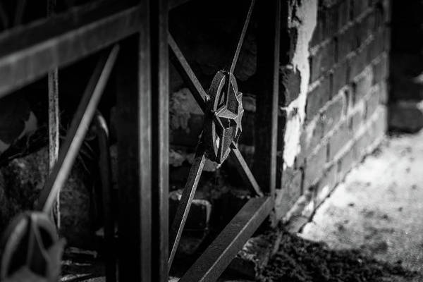 Iron Gate In Bw Poster