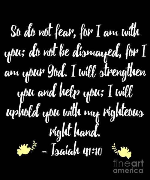 Isaiah 4110 Bible Poster
