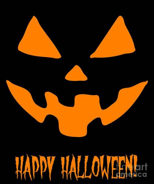 Jackolantern Happy Halloween Pumpkin Poster