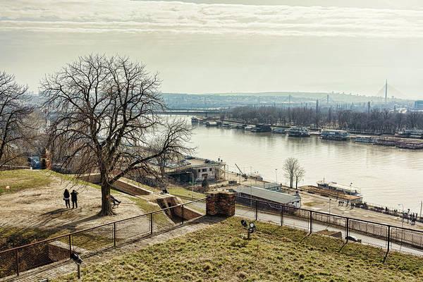 Kalemegdan Park Fortress In Belgrade Poster