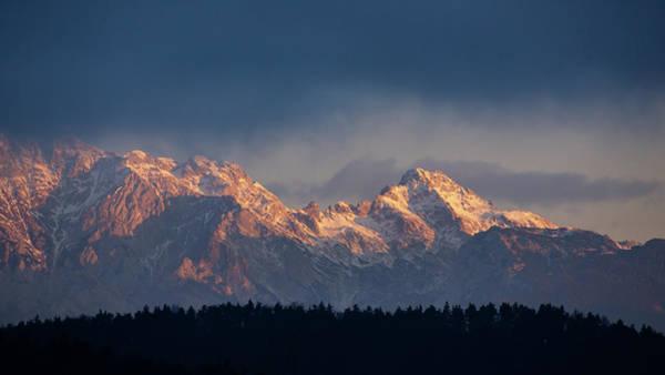Kamnik Alps In The Morning. Poster