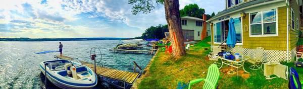 Keuka Lake Mornings Panorama Poster