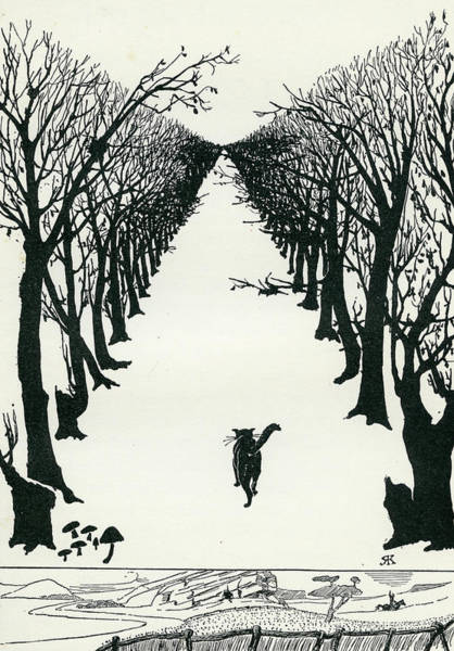 The Cat That Walked By Himself Poster