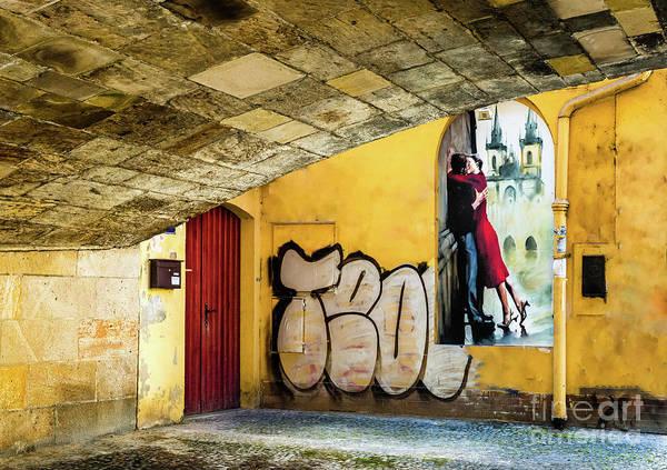 Kissing Under The Bridge Poster