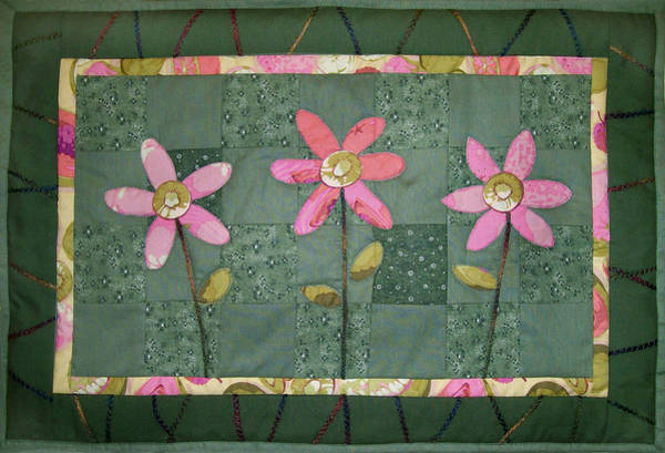 Kiwi Flowers Poster