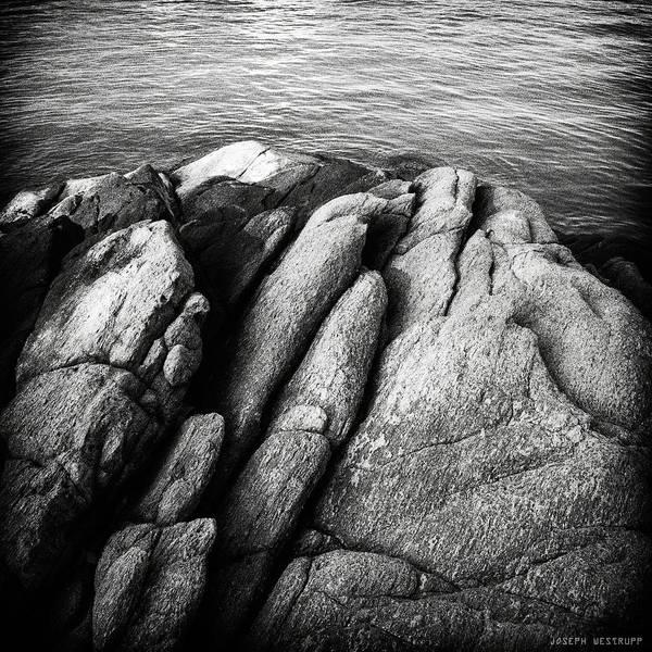 Ko Samet Rocks In Black Poster