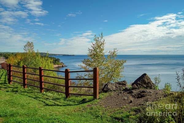 Lake Superior Overlook Poster