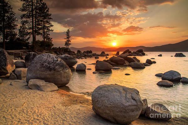Lake Tahoe At Sunset Poster