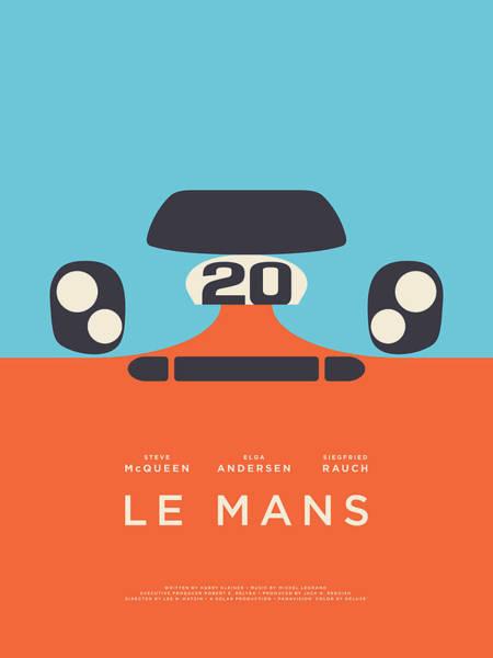 Le Mans Movie - B Poster