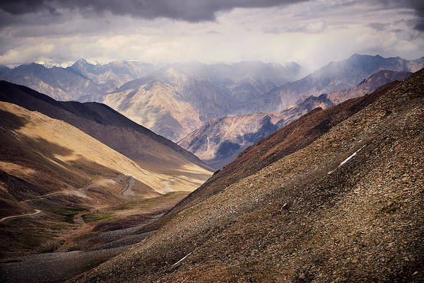 Poster featuring the photograph Leh-manali Mountains by Whitney Goodey