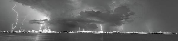 Lightning Pano Poster