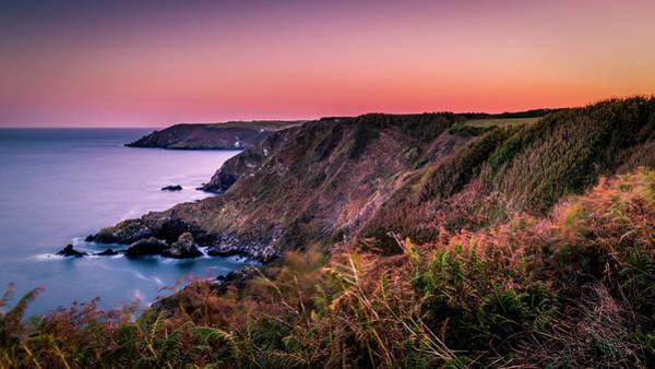 Lizard Point Sunset - Cornwall Poster