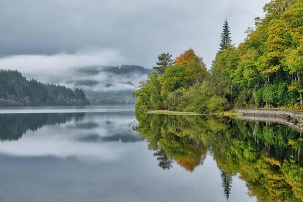 Loch Ard In Scotland Poster