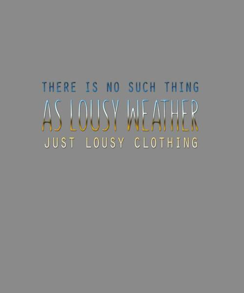 Lousy Clothing Poster