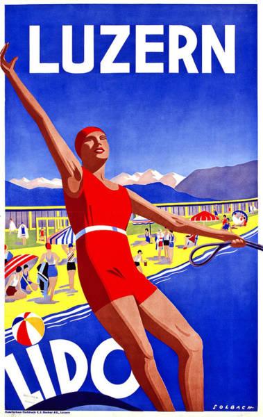 Luzern, Lido Poster