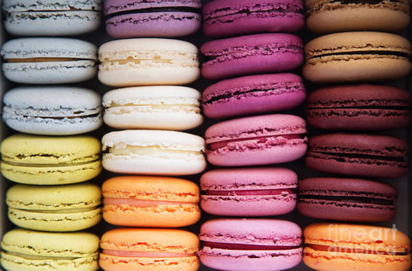 Macarons Background Poster