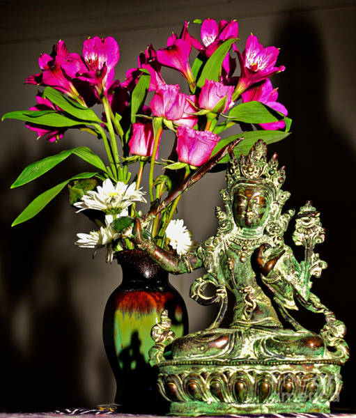 Manjushri- Bodhisattva Of Wisdom Poster