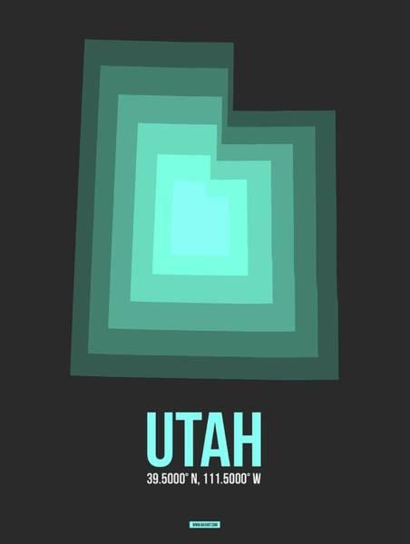 Map Of Utah 4 Poster